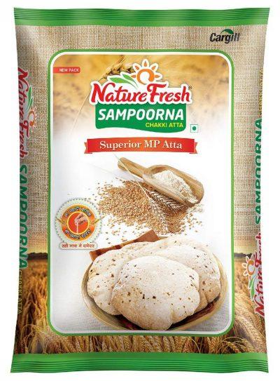 Nature Fresh Sampoorna Chakki Atta: Atta Brand
