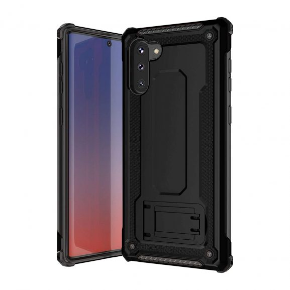 Pirum Military Grade Armor Case for Samsung Galaxy Note 10 - Black