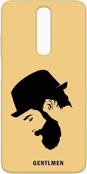 SharpEseller Gentleman Vector Mobile Back Cover: Back Case for Redmi Poco X2