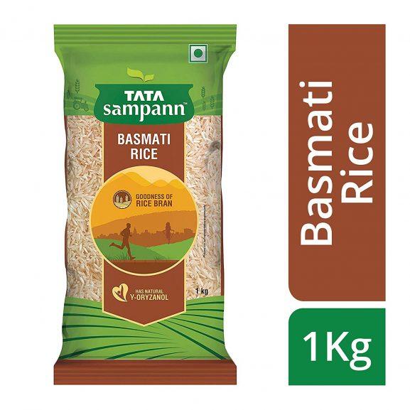 Tata Sampaan Basmati Rice: Rice Brand
