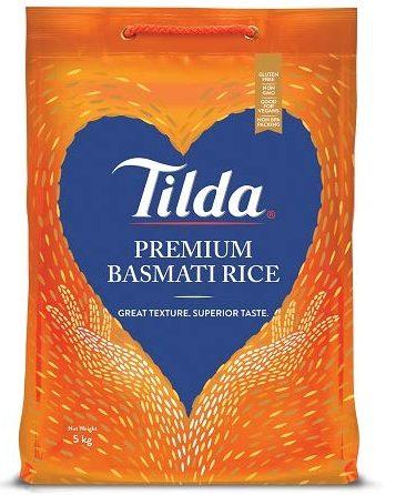 Tilda Premium Basmati: Rice Brand