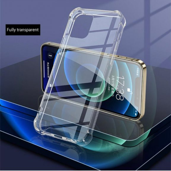 Trenx Premium Transparent Case for iPhone 12 & 12 Pro