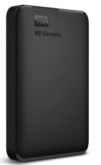 Western Digital Elements 1.5 TB Portable External Hard Drive: External Hard Drive