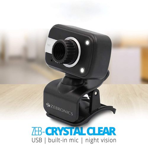 Zebronics Zeb-Crystal Clear Web Camera: Webcam