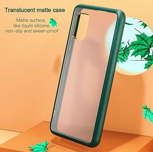 AEETZ Translucent Matte Finish Cover Case: Samsung Galaxy S10 Lite Case