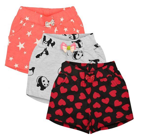 Aatu Kutty Girls' Regular Fit Shorts: Shorts For Girl