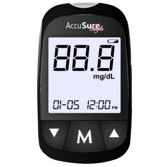 Accusure Simple Glucometer: Glucometer Machine