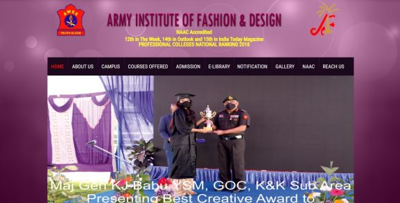 Army Institute of Fashion and Design