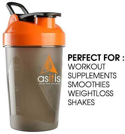 Asitis Nutrition AS - IT - IS Shaker Bottle: Shaker Bottle