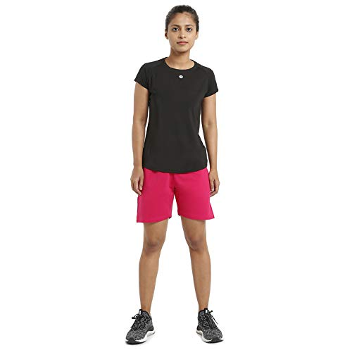 Athlete Women's Solid Cotton Shorts