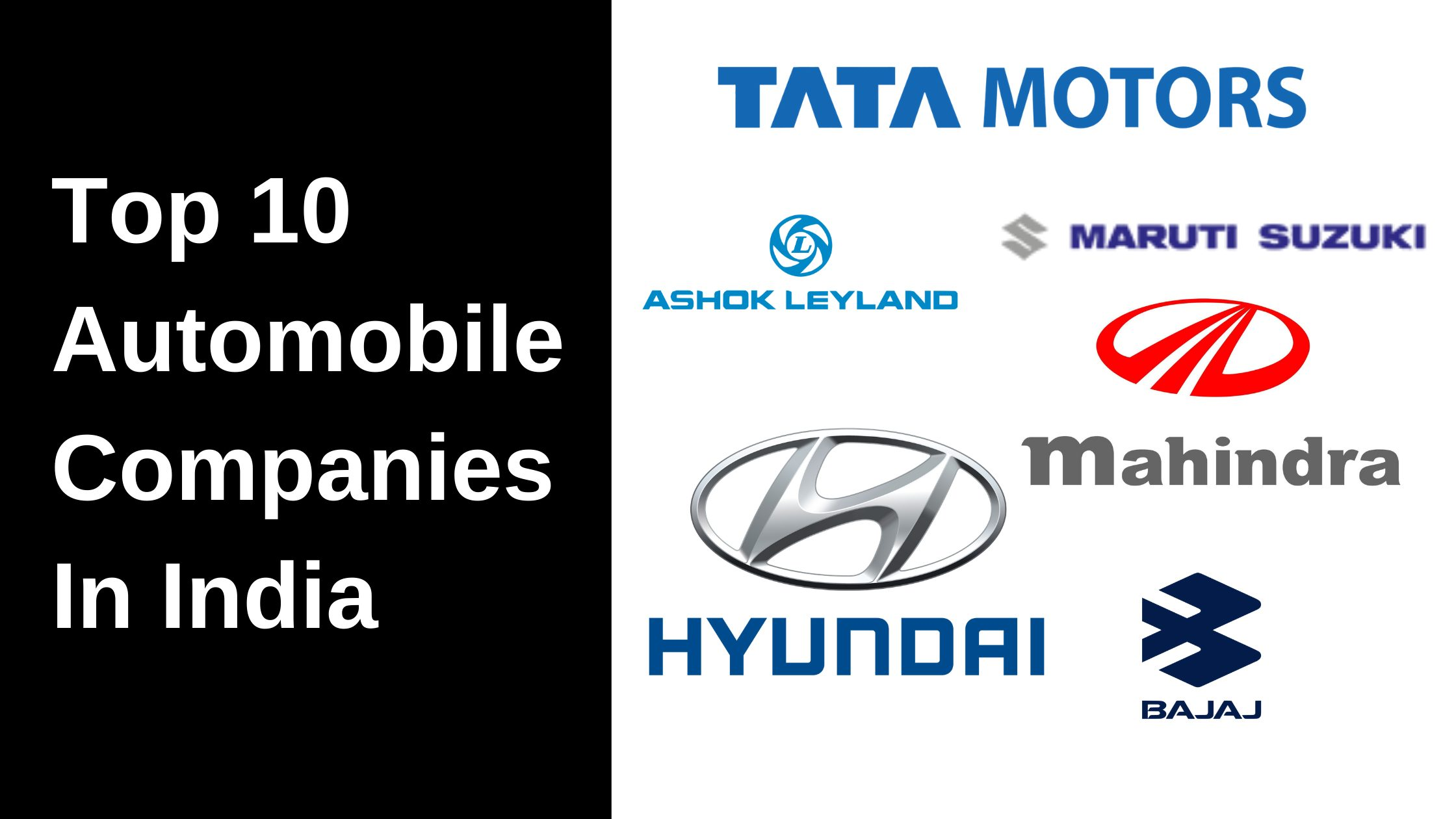 Automobile Companies In India