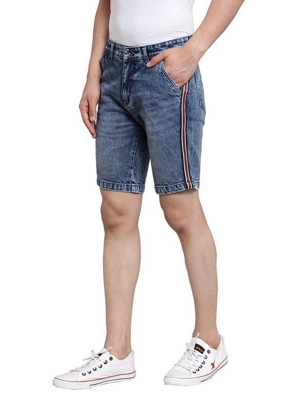 Ben Martin Men's Relaxed Shorts (BM-Tape-Blue-Shorts-W-R-N)