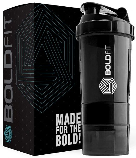 Bold-fit Gym Spider Shaker Bottle 500 ml: Shaker Bottle
