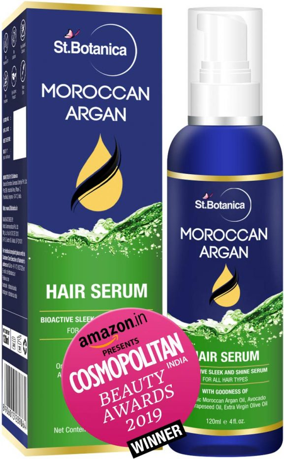 Botanica Moroccan Argan Hair Serum