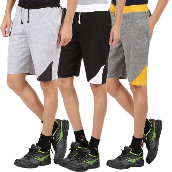 CHECKERSBAY Boy's Regular Shorts