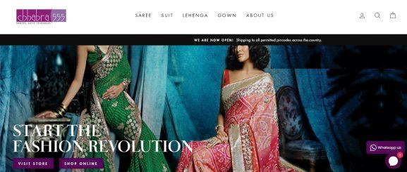 Chhabra 555: Saree Brand