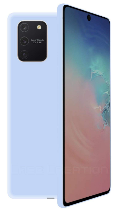 Case Creation Silicone Cover: Samsung Galaxy S10 Lite Case