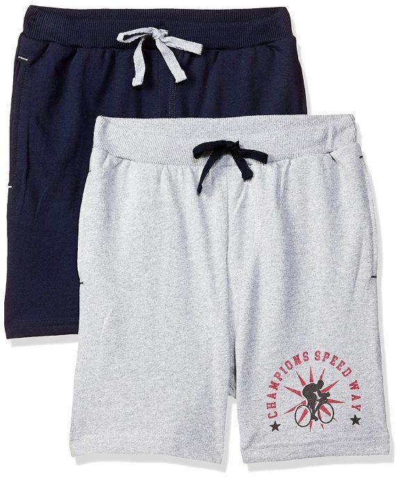 Cloth Theory Boy's Regular fit Cotton Shorts