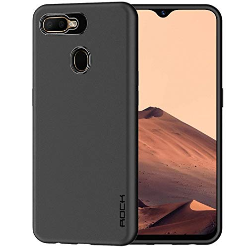 Colorcase Soft Silicone Back Case: Oppo A7 Case