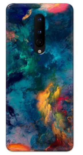 Colorful Art Back cover designed for Oneplus 8.