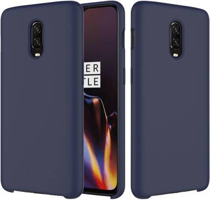 Crust Liquid Silicone Case: OnePlus 6T Cover