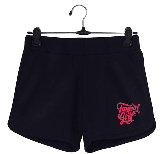 DJ&C by FBB Solid Knit Shorts: Shorts For Girl