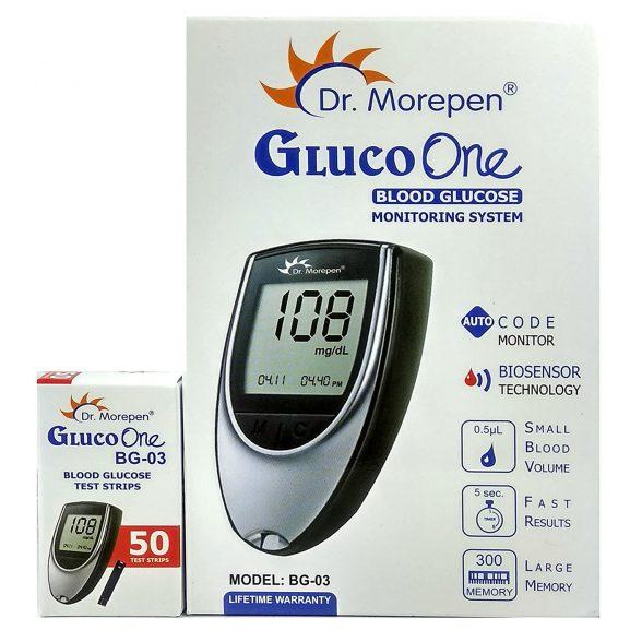 Dr. Morepen BG-03 Gluco One Glucometer Combo: Glucometer Machine