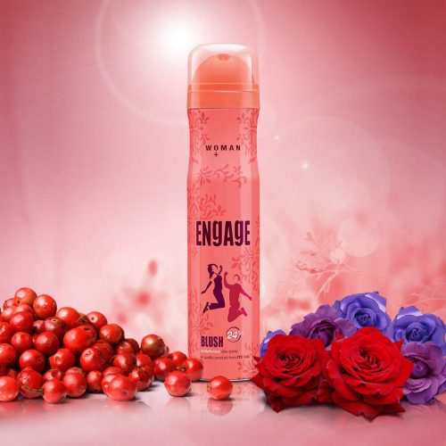 Engage Blush Bodylicious Deo Spray: Perfume For Women
