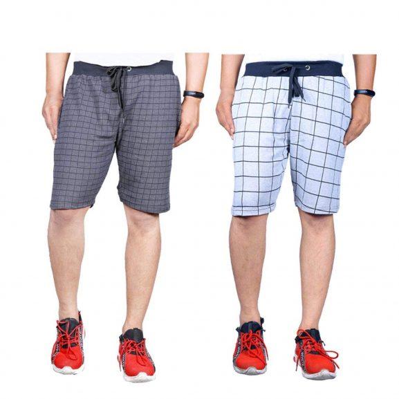 Ezee Sleeves Men's Running Shorts (Pack of 2)