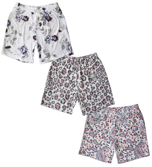 Fabtie Cotton Printed Shorts