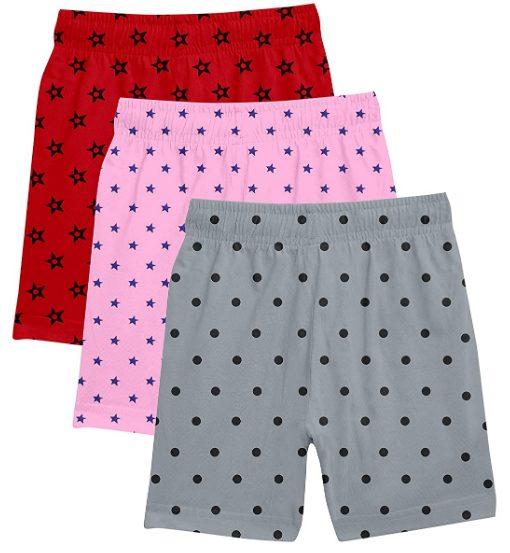 Fasla Girl's Cotton Shorts: Shorts For Girl