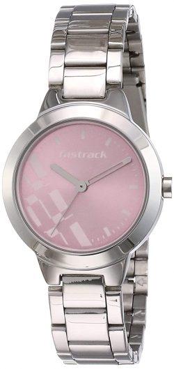 Fastrack Analog Dial Women's Watch: Birthday Gift For Girls
