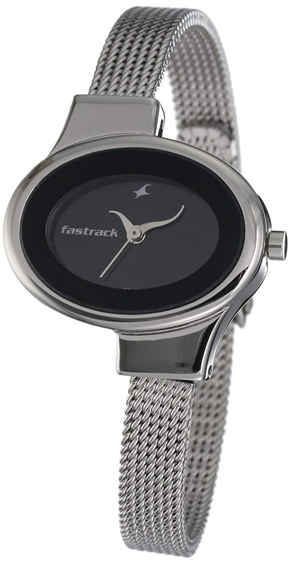 Fastrack Economy Analog Black Dial Women's Watch