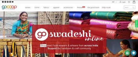 Gocoop: Saree Brand