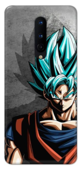Goku Dragon Back cover designed for Oneplus 8.