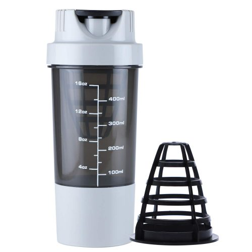 HAANS Protein Shaker Bottle, 500 ml: Shaker Bottle