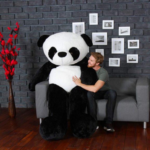 HUG 'n' FEEL SOFT TOYS Teddy Bear 6 Feet, Panda: Birthday Gift For Girls