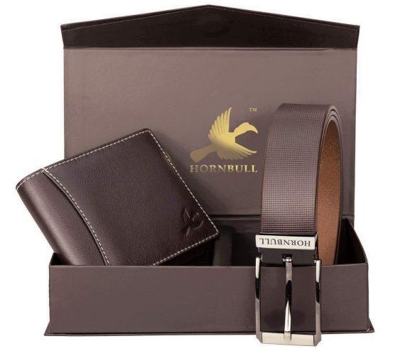 Hamper Wallet and Belt combo gift set: Gift For Men