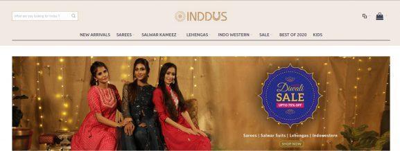 INDDUS: Saree Brand
