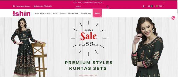 Ishin: Saree Brand