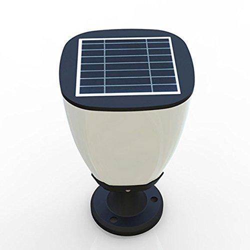 Ifitech Solar Pillar Designer Light: Solar Led Light