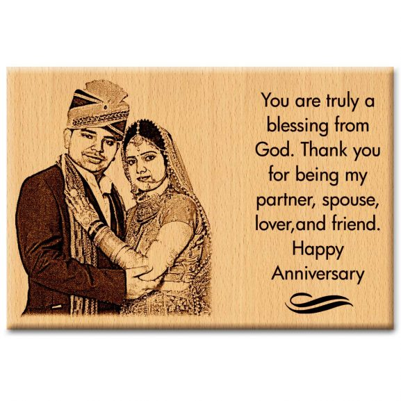 Incredible Gifts India Personalised Gift and Presents for Marriage Anniversary Frame for Couples