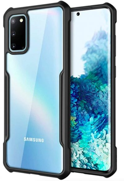 KAPA Beetle Transparent Back Case: Samsung Galaxy S10 Lite Case