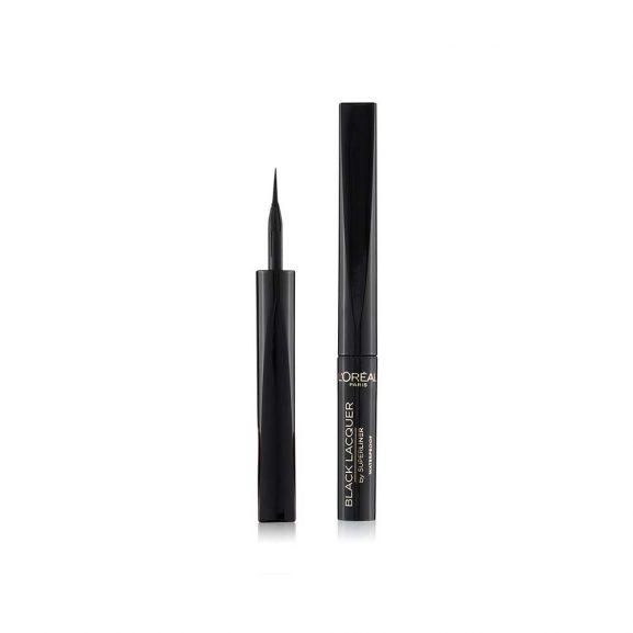 L'Oreal Paris Super Liner Black Lacquer Eyeliner, Waterproof, 6 ml
