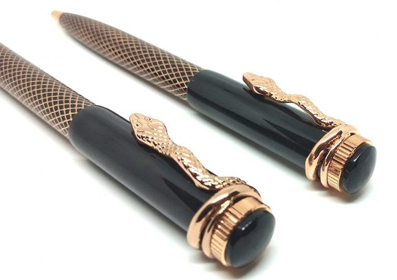 LUXURY Snake Series Ball pen combo set: Marriage Anniversary Gift For Couple