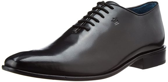Louis Philippe Men's Oxford Leather Formal Shoes