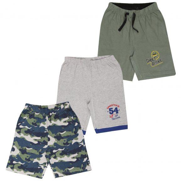 MIDAAS Boys Cotton Combo Shorts