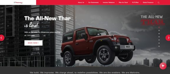 Mahindra & Mahindra Ltd: Automobile Company