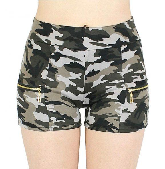 Malvina Women's Cotton Stretch Shorts