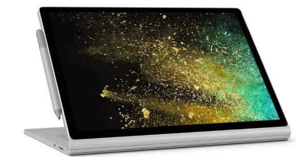 Microsoft Surface Book 15-inch Touchscreen Laptop: Best Laptop for Graphic Design